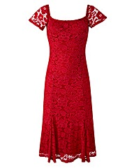 Joanna Hope Lace Bardot Dress