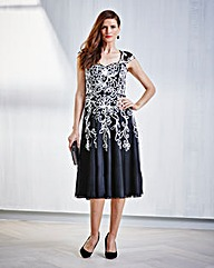 JOANNA HOPE Cornelli Dress