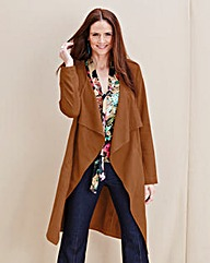 JOANNA HOPE Mock-Suede Jacket