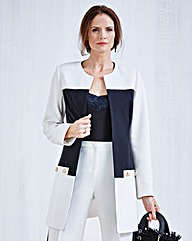 JOANNA HOPE Colour-Block Jacket