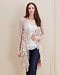 JOANNA HOPE Tassel Detail Cardigan