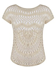 JOANNA HOPE Crochet Jumper