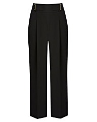 JOANNA HOPE Crop Wide-Leg Trousers