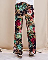 JOANNA HOPE Print Palazzo Trousers