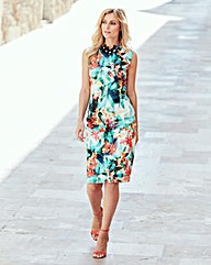 Joanna Hope Print Shift Dress