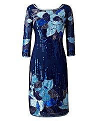 Joanna Hope Sequin-Detail Dress