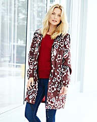 Red Floral PacAParka Lightweight Jacket