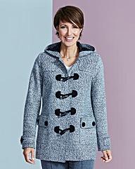 Tweed Duffle Coat Length 28ins