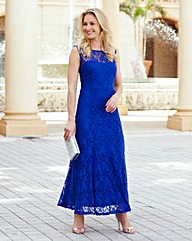 JOANNA HOPE Lace Maxi Dress and Bolero