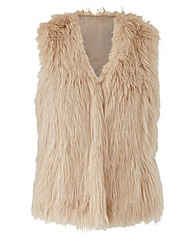 JOANNA HOPE Faux Fur Gilet