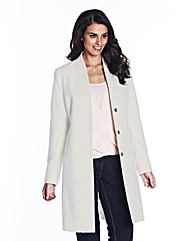 V Neck Collar Coat