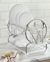 2-Tier Dishdrainer Stainless Steel