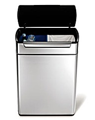 Simplehuman Touch-bar Recycler Bin 48L