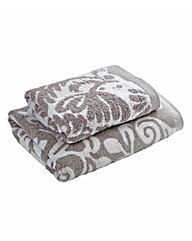 Florence Jacquard Hand Towel