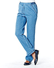 Suzy Pull On Cotton Jeans Length 27in