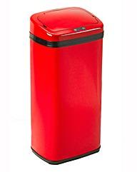 Russell Hobbs Square 50L Sensor Bin Red