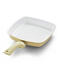 Ceramic Grill Pan Cream