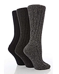 3 Pair Jennifer Anderton Boot Socks