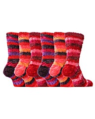 3 Pair So Cozy Feather Socks