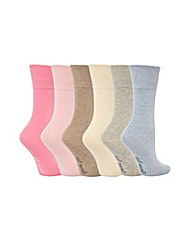 Gentle Grip Plain Socks