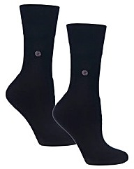 4 Pair Cushion Foot Gentle Grip Socks