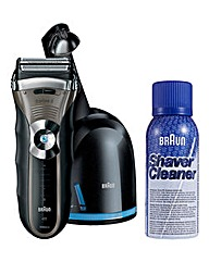 Braun Foil Shave & Clean & Renew Charger