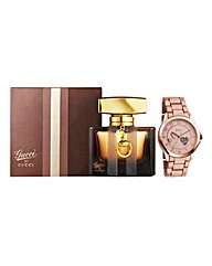 Gucci By Gucci 50ml EDP & FREE Watch