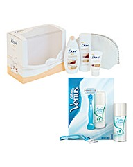 Dove Be You & Venus Classic Set BOGOF
