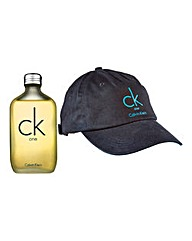 CK One 100ml EDT with CK Baseball Cap