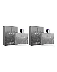 Label J the fragrance 100ml EDT BOGOF