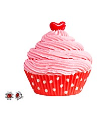 Jewel Bath I Love You Bath Cupcake