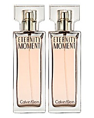 Calvin Klein Eternity Moment 100ml BOGOF