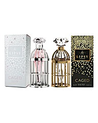 Lipsy Caged and Lipsy Dream 30ml BOGOF