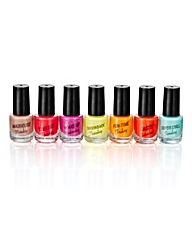 Days Of The Week Scented Nail Polish Set