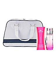 Lacoste Touch Of Pink With Free Bag