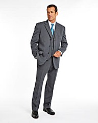 WILLIAMS & BROWN Smart Rib 3 Piece Suit