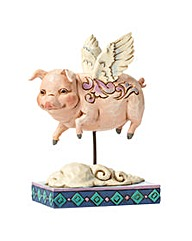 Heartwood Creek Animals Pig Flying