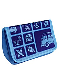 VW Collection Toiletry Bag Blue