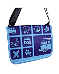 VW Collection Messenger Bag Blue