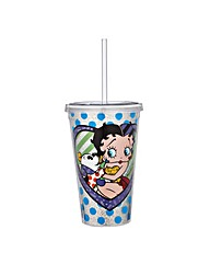 Betty Boop Pudgy and Betty Boop tumbler