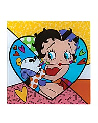 Betty Boop Pudgy Kissing Betty Boop