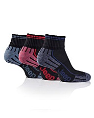 Jeep Mens Ankle Socks