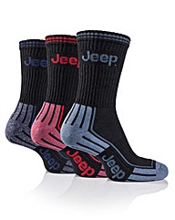 3 Pair Jeep Mens Sports Socks