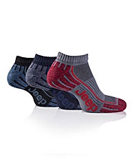 3 Pair Jeep Mens Trainer Socks