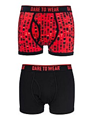 2 Pack DTW Raindrop Trunks