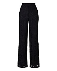 Lace Wide Leg Trousers Regular