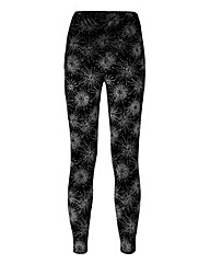 Velvet Starburst Stretch Leggings