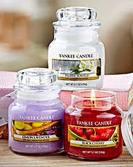 Yankee Candle Set Of 3 Small Classic Jar