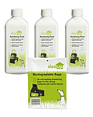 Dooup Pet Waste Large Breed Starter Kit