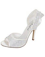 Perfect Crystal Encrusted Court Shoe